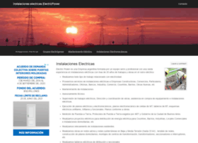 Electricpower.com.ar thumbnail