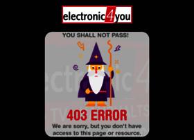 Electronic4you.at thumbnail