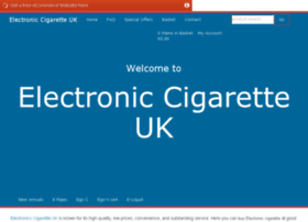 Electronics-cigarette.co.uk thumbnail