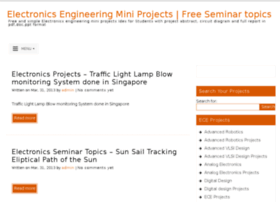 easy and simple electronic mini projects with circuit diagram atelectronics engineeringminiprojects com thumbnail · electronics engineering mini projects free seminar topics