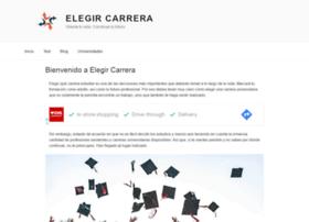 Elegircarrera.net thumbnail