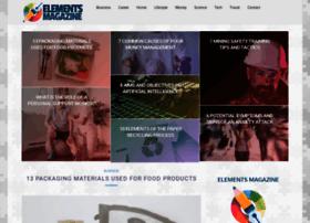 Elements-magazine.com thumbnail