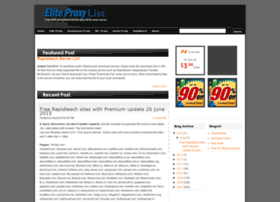 Eliteproxy.blogspot.com thumbnail
