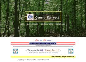 Elkscampbarrett.org thumbnail