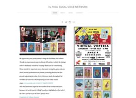 Elpasoequalvoice.org thumbnail