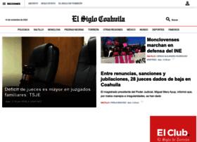 Elsiglocoahuila.mx thumbnail