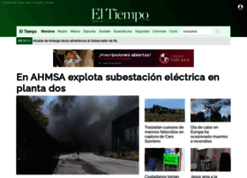 Eltiempomonclova.mx thumbnail