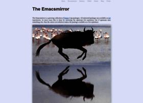 Emacsmirror.net thumbnail