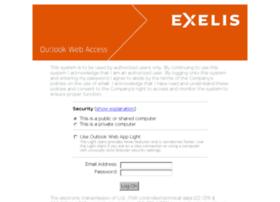 Email.exelisinc.com thumbnail