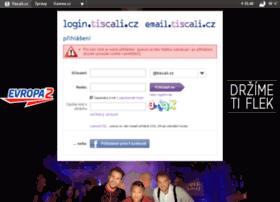 Email.tiscali.cz thumbnail