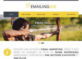 Emailingb2b.ma thumbnail