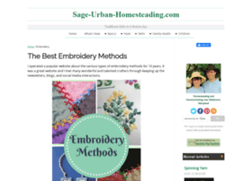 Embroidery-methods.com thumbnail