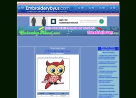 Embroiderybyus.com thumbnail