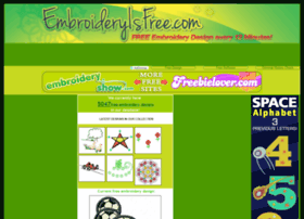 Embroideryisfree.com thumbnail