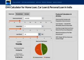 Emicalculator Net At Wi Emi Calculator For Home Loan Car Loan