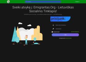 Emigrantas.org thumbnail