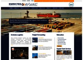 Emirateslogistics.net thumbnail