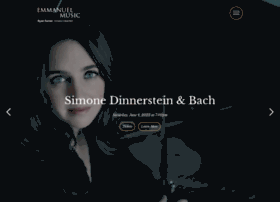 Emmanuelmusic.org thumbnail