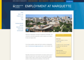 Employment.marquette.edu thumbnail