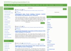 Employmentalert.in thumbnail