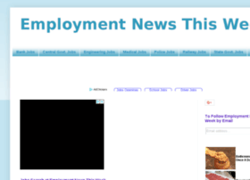 Employmentnews-thisweek.blogspot.in thumbnail