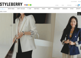at wi korea fashion online shopping mall styleberry