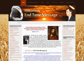 End-time-message.org thumbnail