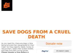 Endthedogmeattrade.soidog.org thumbnail