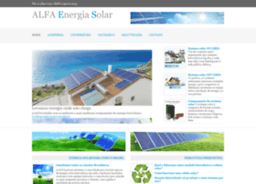 Energiasolaralfa.com.br thumbnail