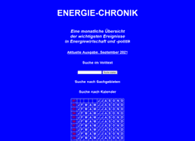 Energie-chronik.de thumbnail