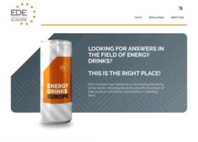 Energydrinkseurope.org thumbnail