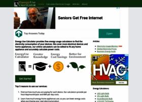 Energyusecalculator.com thumbnail