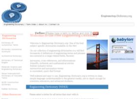 Engineering-dictionary.org thumbnail