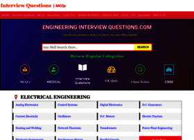 Engineeringinterviewquestions.com thumbnail