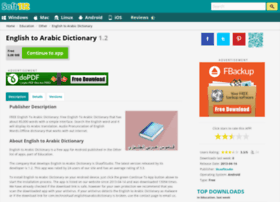 English-to-arabic-dictionary.soft112.com thumbnail