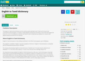 English-to-tamil-dictionary.soft112.com thumbnail