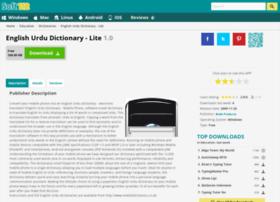English-urdu-dictionary-lite.soft112.com thumbnail