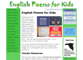 Englishpoemsforkids.com thumbnail