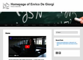 Enricodegiorgi.com thumbnail