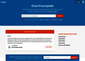 Ensie.nl thumbnail