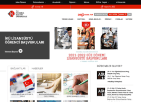 Enstitu.iku.edu.tr thumbnail