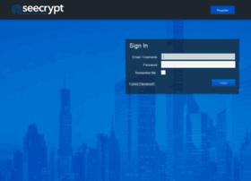 Enterprise.seecrypt.com thumbnail