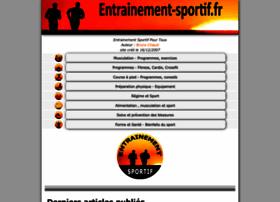 Entrainement-sportif.fr thumbnail