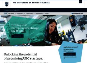 Entrepreneurship.ubc.ca thumbnail