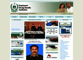 Eobi.gov.pk thumbnail