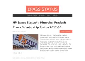 Epassstatus.com thumbnail