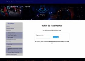 Epay.wub.edu.bd thumbnail