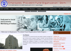 Epfdelhi.gov.in thumbnail
