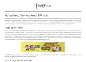 Epfindia.pro thumbnail
