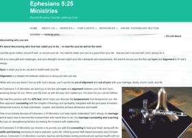 Ephesians525.org thumbnail